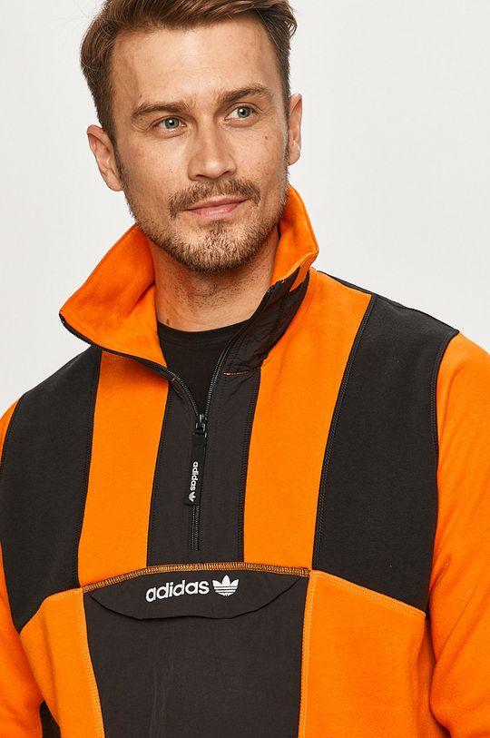 pomarańczowy adidas Originals - Bluza