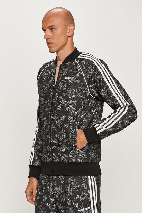 czarny adidas Originals - Bluza X Disney