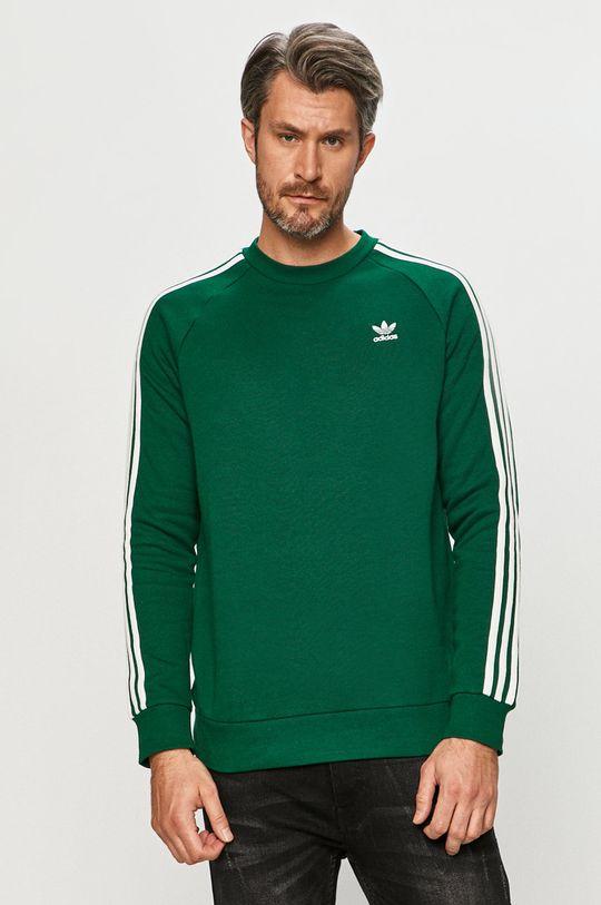 ostrá zelená adidas Originals - Mikina Pánský