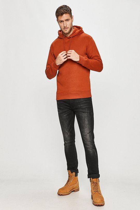 Tom Tailor Denim - Mikina oranžová