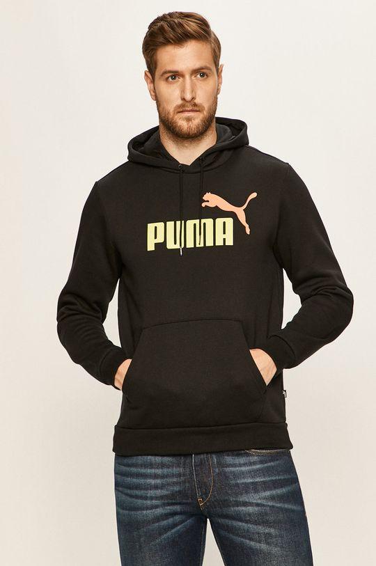 černá Puma - Mikina Pánský