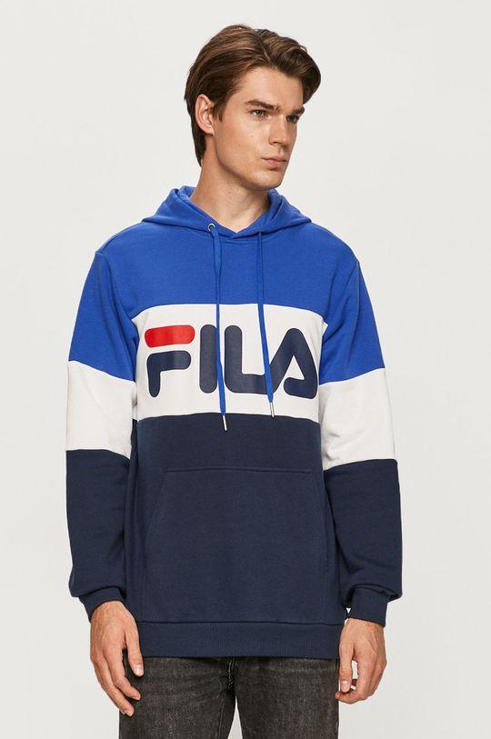 niebieski Fila - Bluza Męski