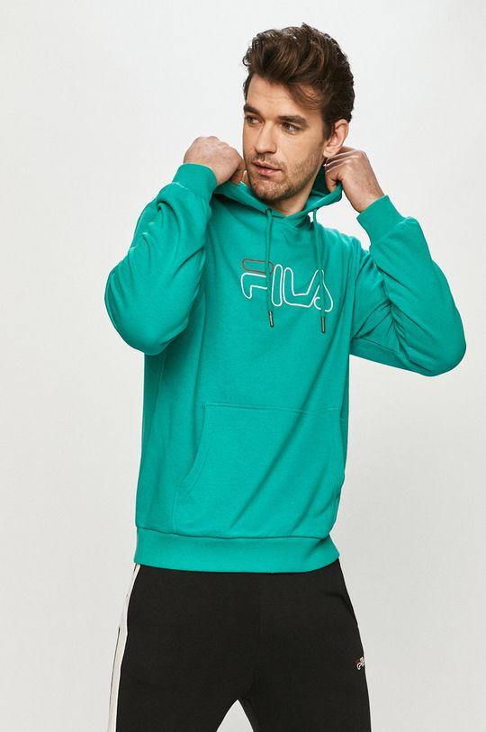zielony Fila - Bluza Męski