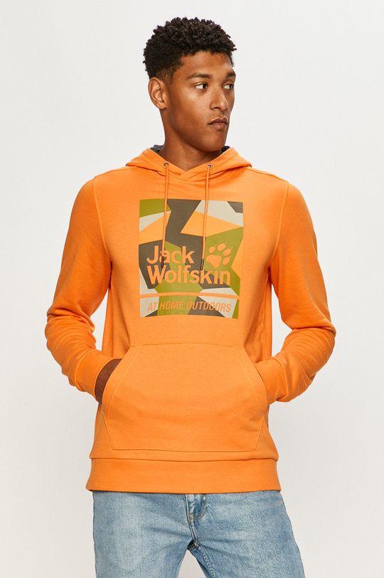 portocaliu Jack Wolfskin - Bluza De bărbați