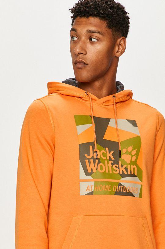 portocaliu Jack Wolfskin - Bluza