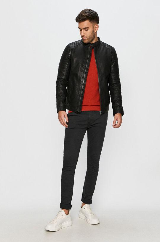 Lee - Sweter czerwony
