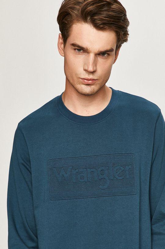 bleumarin Wrangler - Bluza De bărbați