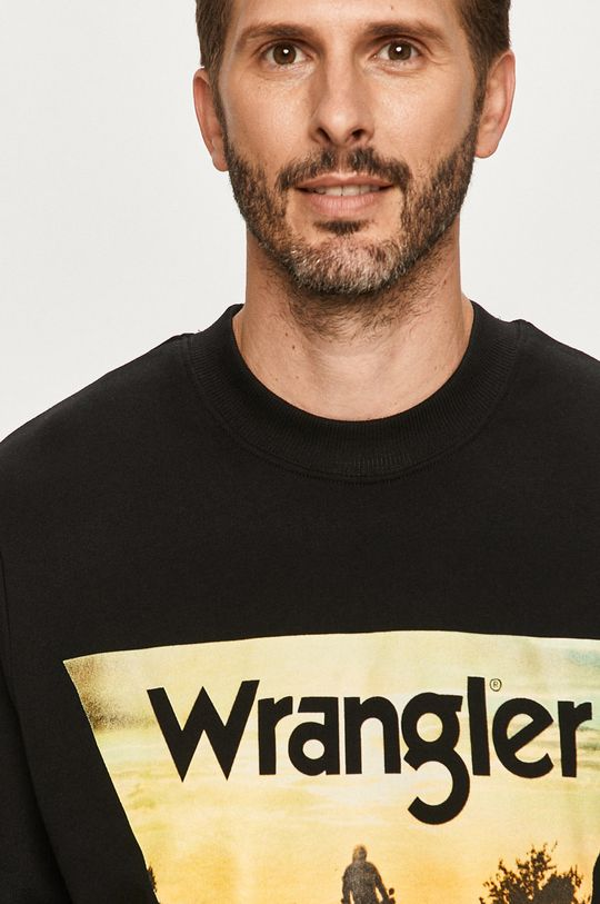 čierna Wrangler - Mikina