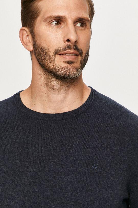 granatowy Wrangler - Sweter