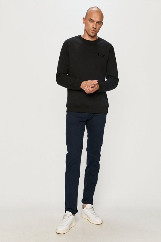 Lee - Bavlněná mikina černá