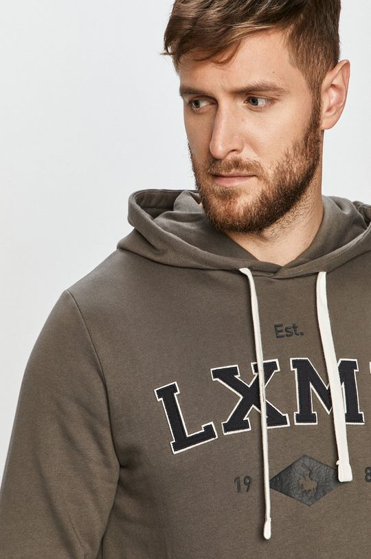 grafitowy Produkt by Jack & Jones - Bluza bawełniana