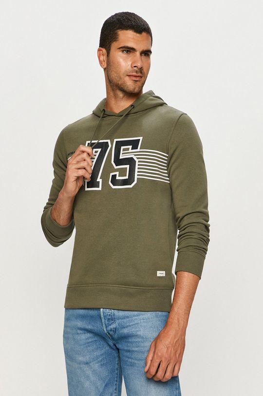 zielony Produkt by Jack & Jones - Bluza Męski