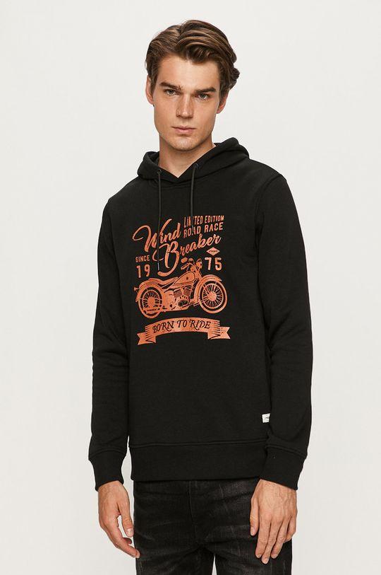 czarny Produkt by Jack & Jones - Bluza Męski