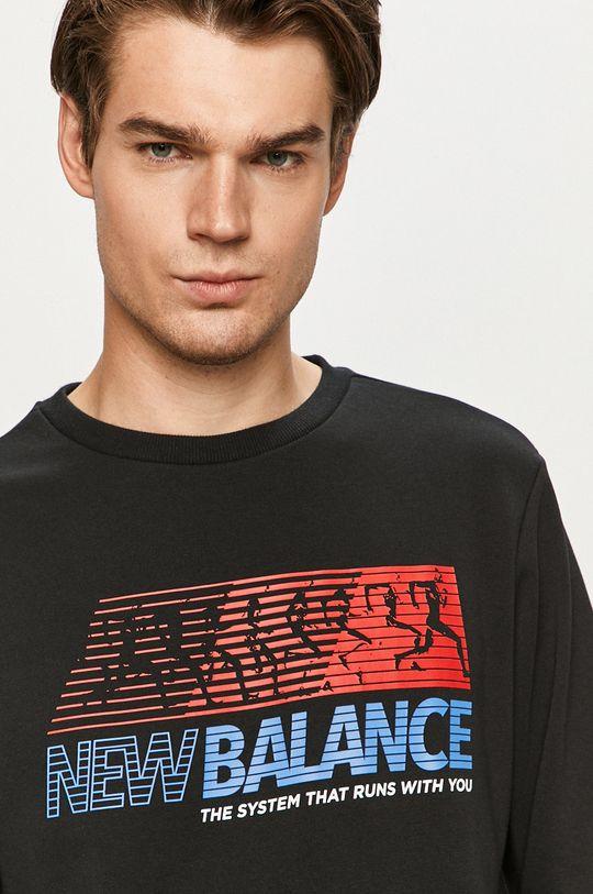 černá New Balance - Mikina