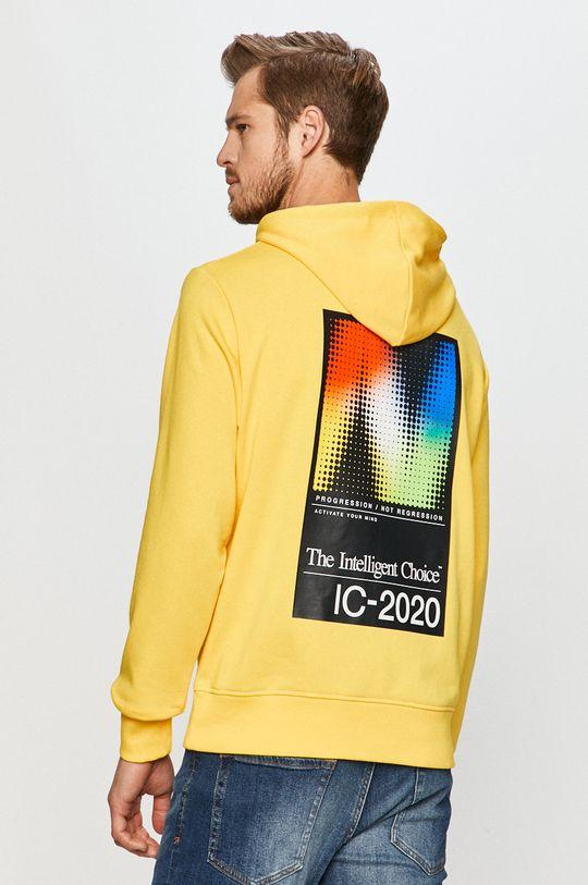 żółty New Balance - Bluza