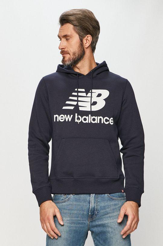 námořnická modř New Balance - Mikina