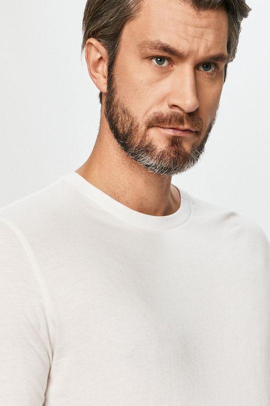 bílá GAP - Tričko s dlouhým rukávem