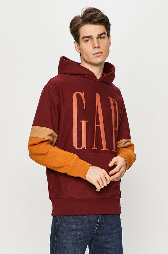 karminowy GAP - Bluza