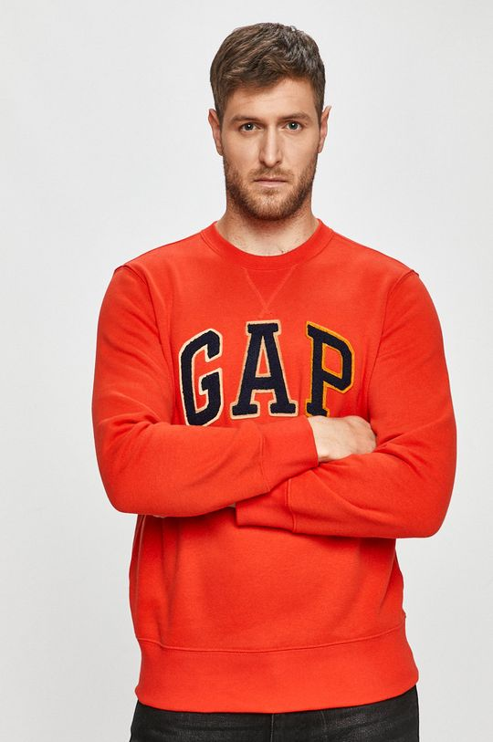 czerwony GAP - Bluza Męski