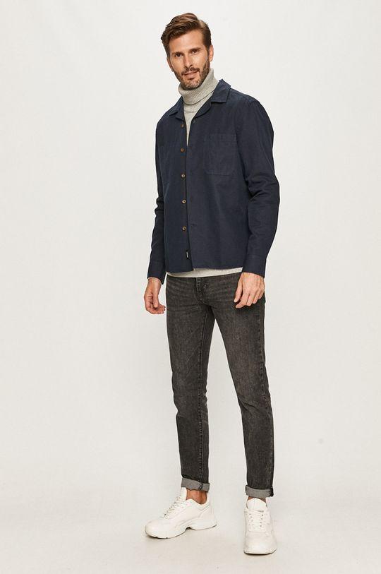 Calvin Klein - Koszula granatowy