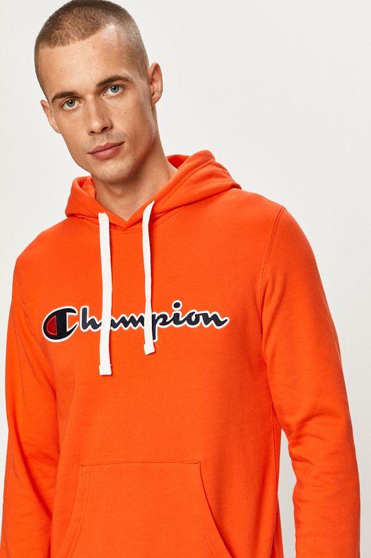 mandarynkowy Champion - Bluza
