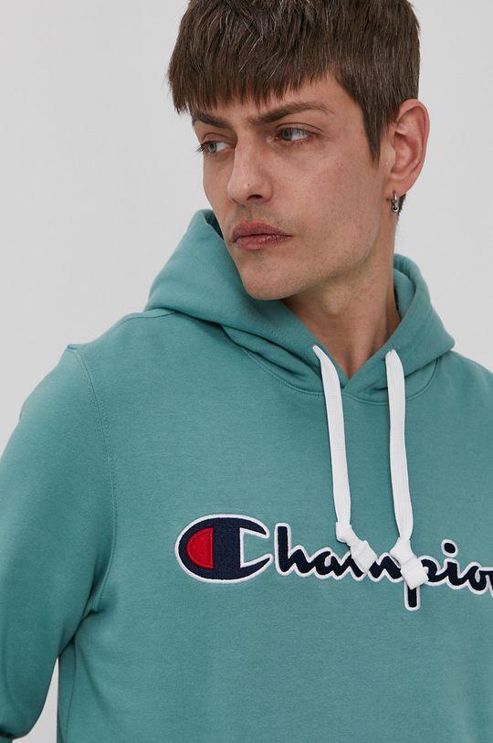 turkusowy Champion - Bluza bawełniana