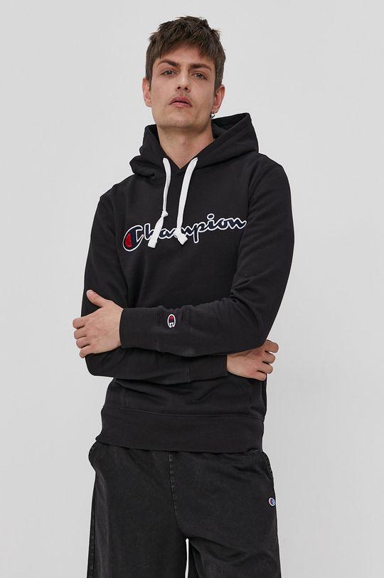 czarny Champion - Bluza bawełniana Męski