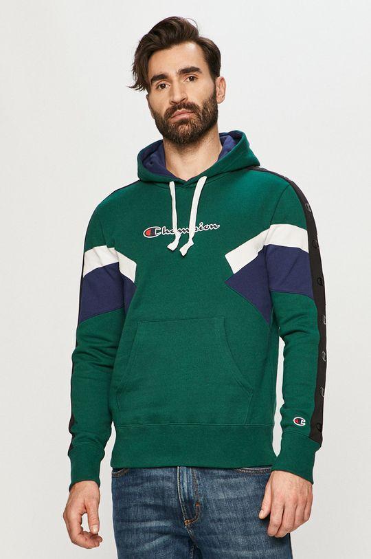 stalowy zielony Champion - Bluza Męski