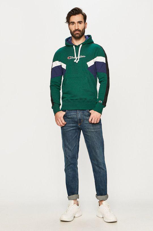 Champion - Bluza stalowy zielony