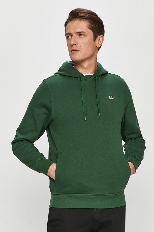 ciemny zielony Lacoste - Bluza Męski
