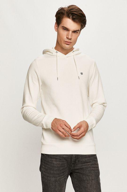 biały Premium by Jack&Jones - Bluza Męski