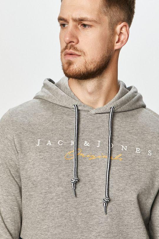 jasny szary Jack & Jones - Bluza