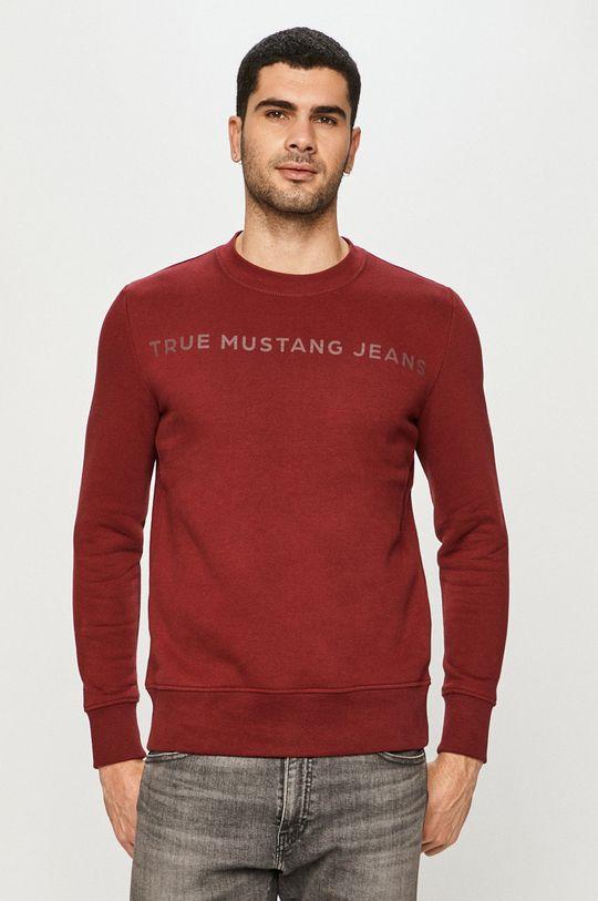 kasztanowy Mustang - Bluza Męski