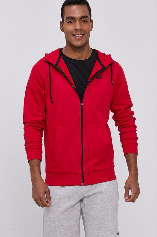 4F - Bluza rosu