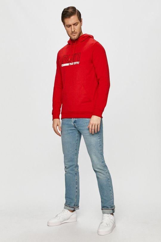 4F - Bluza H4Z20.BLM017 czerwony