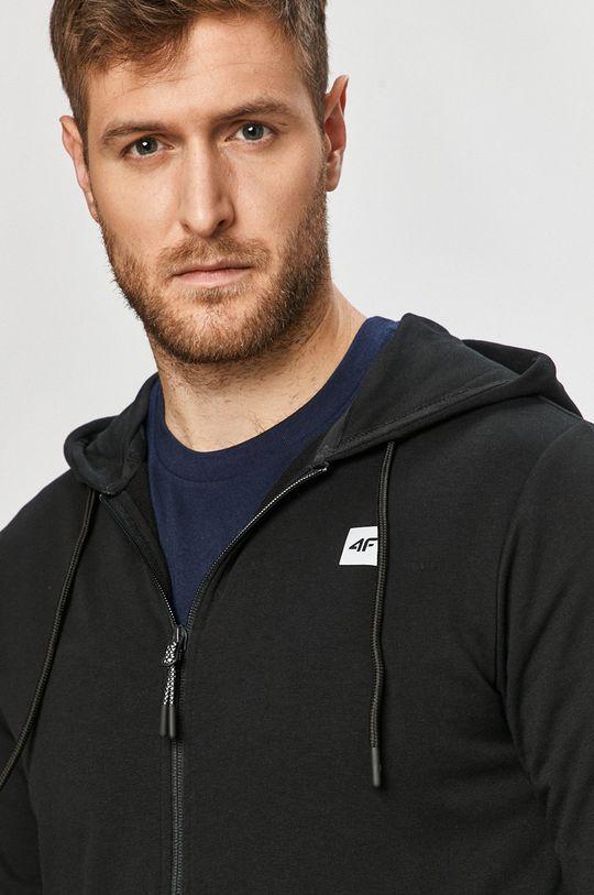 czarny 4F - Bluza