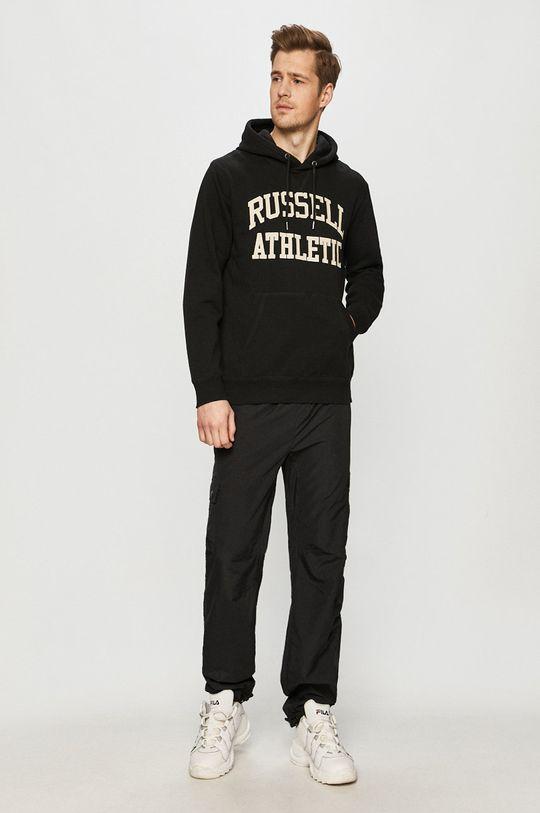 Russell Athletic - Bluza bawełniana czarny