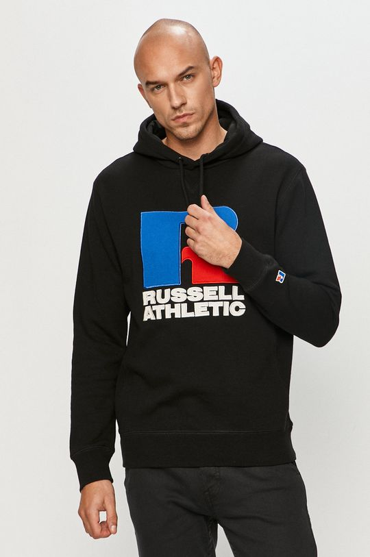 černá Russell Athletic - Mikina Pánský