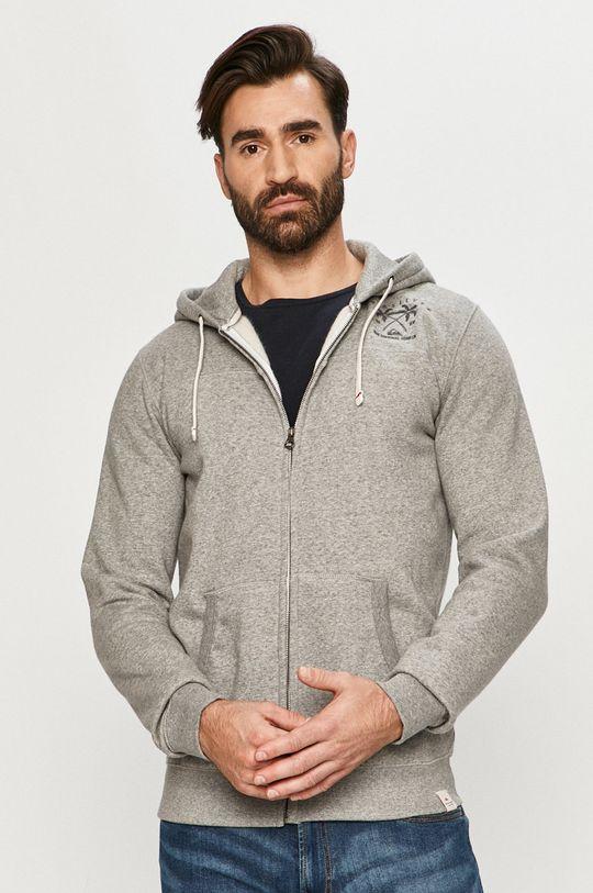 gri deschis Quiksilver - Bluza De bărbați