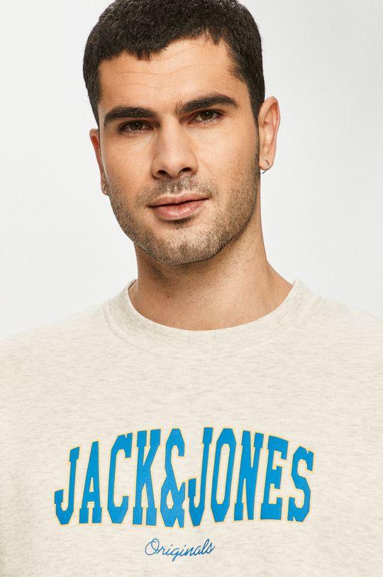 kremowy Jack & Jones - Bluza