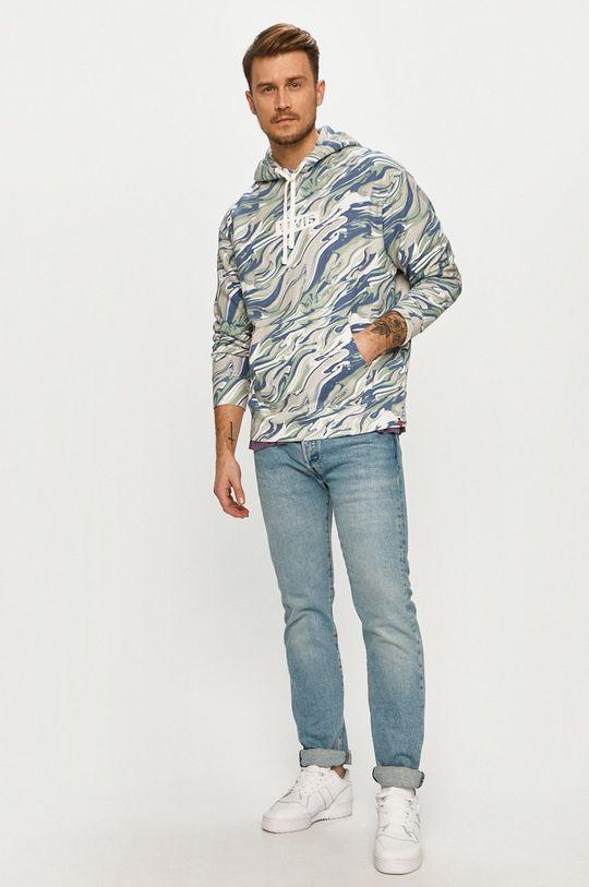 Levi's - Bluza bawełniana jasny niebieski