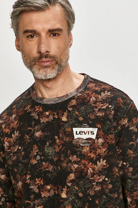 brudny brązowy Levi's - Bluza