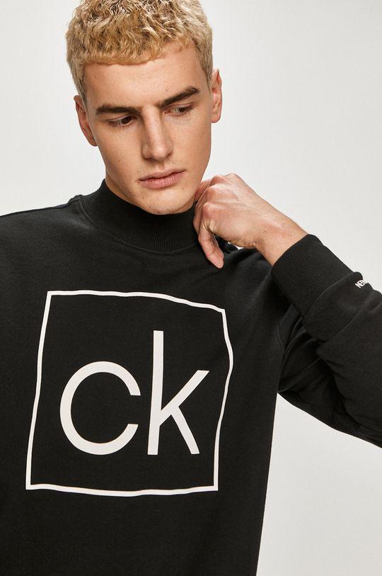 negru Calvin Klein - Hanorac de bumbac