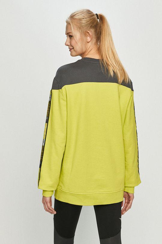 žlutě zelená Diadora - Bavlněná mikina