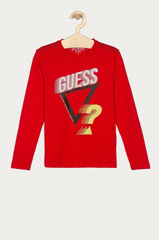 червоний Guess Jeans - Дитячий лонгслів 116-175 cm Для хлопчиків