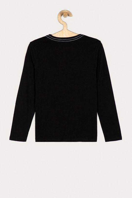 Guess Jeans - Longsleeve dziecięcy 116-175 cm czarny