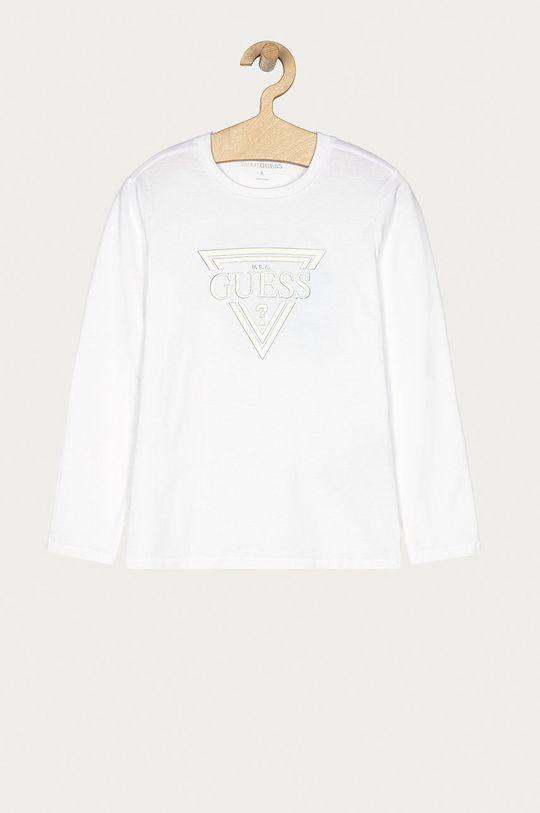 bílá Guess - Dětské tričko s dlouhým rukávem 116-176 cm Chlapecký