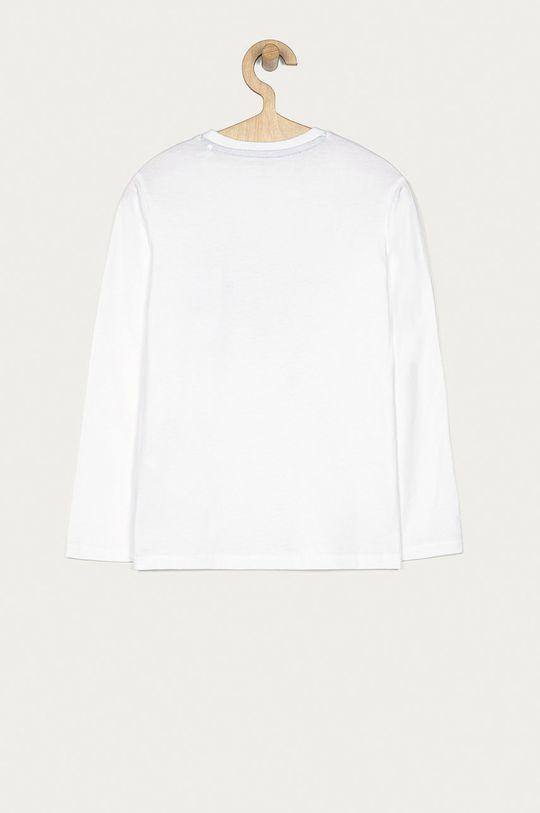 Guess - Dětské tričko s dlouhým rukávem 116-176 cm bílá