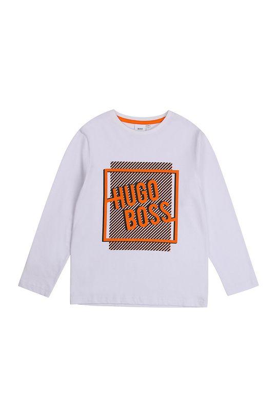 fehér Boss - Gyerek hosszúujjú Fiú