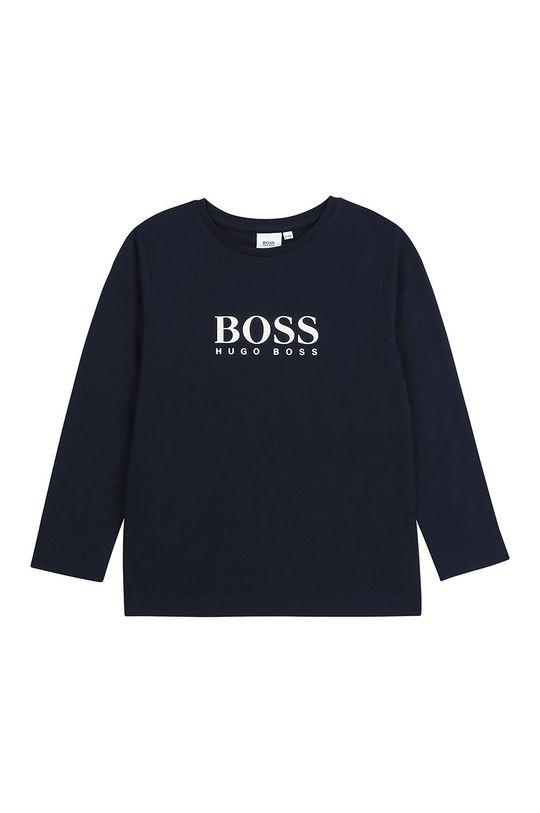 bleumarin Boss - Longsleeve copii 116-152 cm De băieți